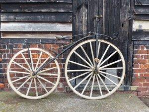 c.1868 Velocipede Boneshaker Bicycle for restoration For Sale