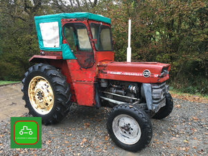 1969 MASSEY FERGUSON 135 VERY GOOD ALL ROUND TRACTOR SEE VID SOLD