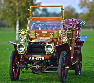 1903 Thornycroft 20HP 4 Cylinder Double Phaeton For Sale