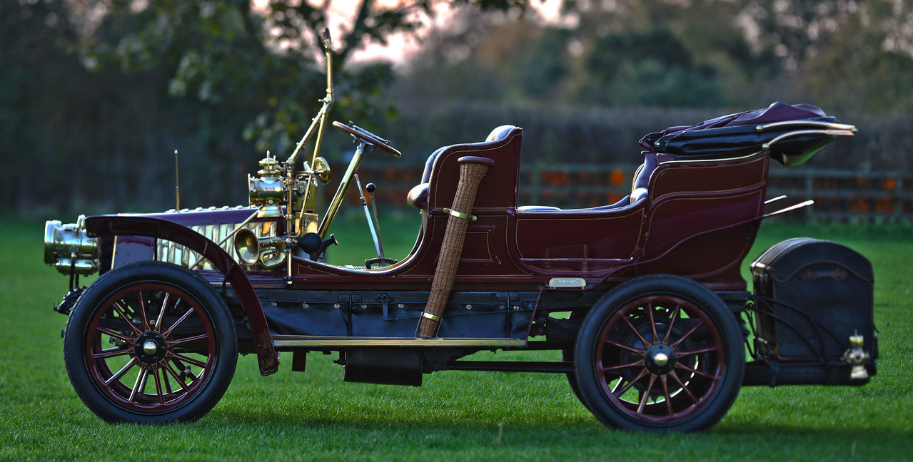 1903 Thornycroft 20HP 4 Cylinder Double Phaeton For Sale (picture 2 of 6)