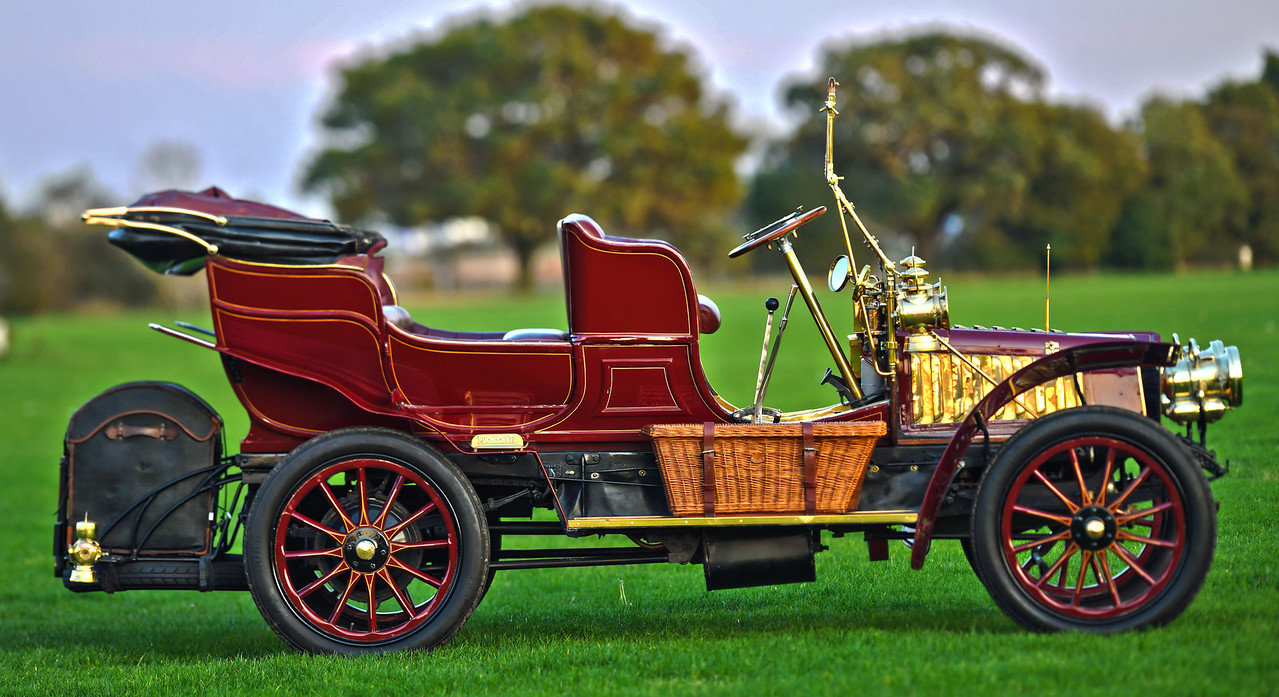 1903 Thornycroft 20HP 4 Cylinder Double Phaeton For Sale (picture 3 of 6)