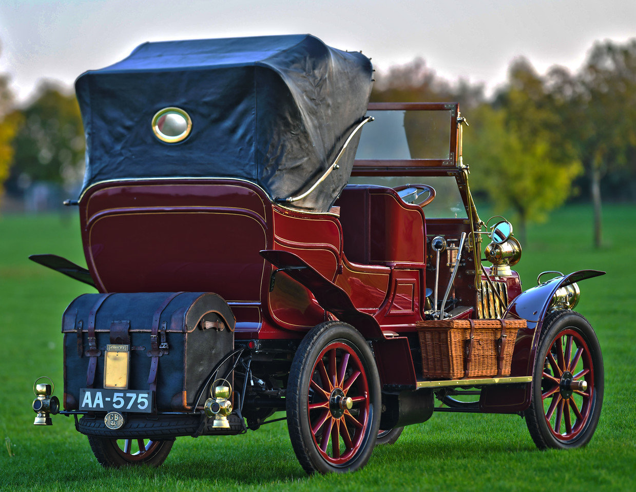 1903 Thornycroft 20HP 4 Cylinder Double Phaeton For Sale (picture 4 of 6)