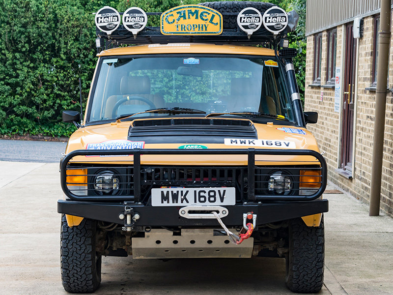 1979 Camel Range Rover Classic Long Distance Rally Car For Sale (picture 3 of 6)