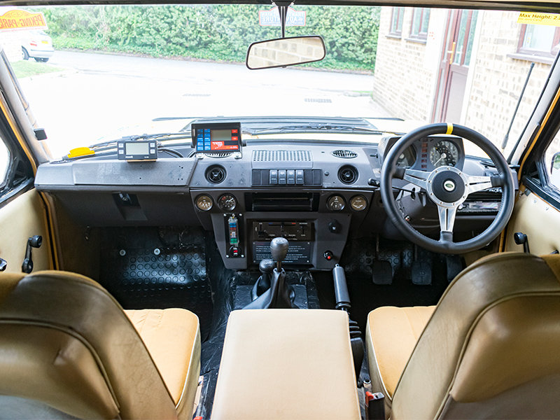 1979 Camel Range Rover Classic Long Distance Rally Car For Sale (picture 4 of 6)