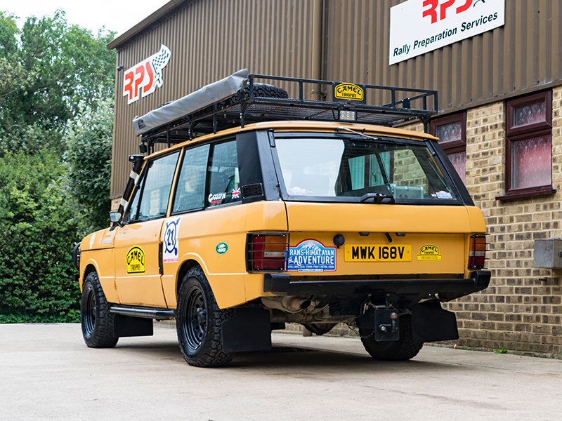 1979 Camel Range Rover Classic Long Distance Rally Car For Sale (picture 5 of 6)