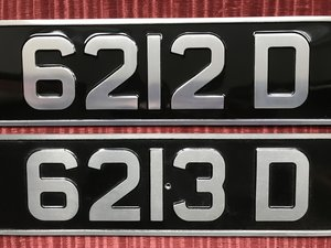 1964 A pair of consecutive plates  For Sale