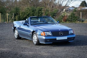 1992 Mercedes-Benz SL 300 R129 Auto Blue 58,000 Miles Immaculate  SOLD