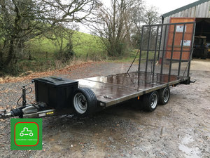 2015 INDESEPNSION TRANSPORTER TRAILER 100% READY TO TOW AWAY      SOLD