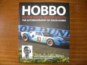 Picture of 1939 'HOBBO'   David Hobbs autobiography....Signed copy. For Sale