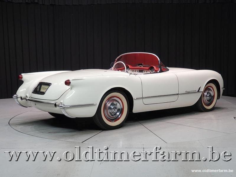 1954 Corvette C1 White '54 For Sale (picture 2 of 6)