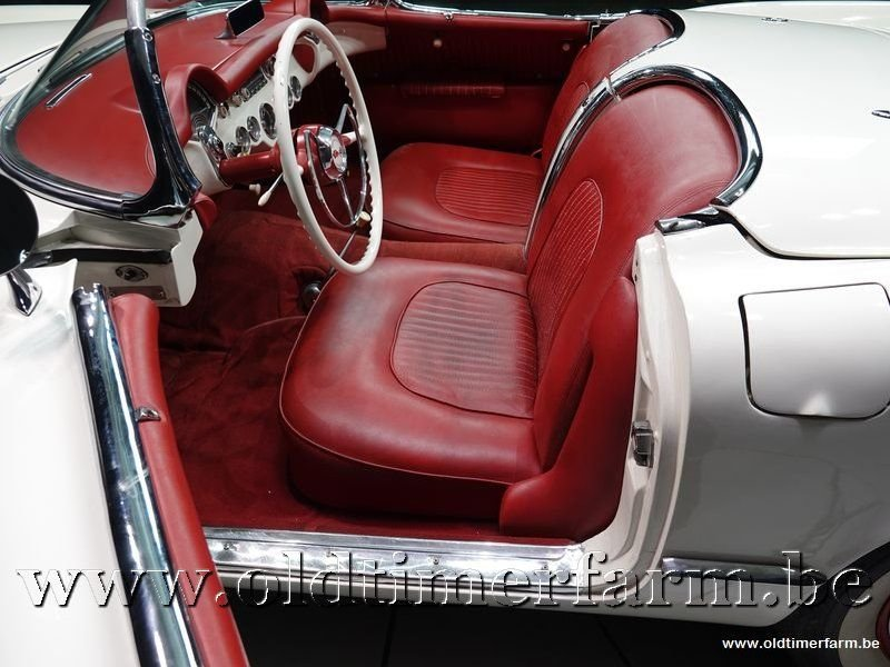 1954 Corvette C1 White '54 For Sale (picture 4 of 6)