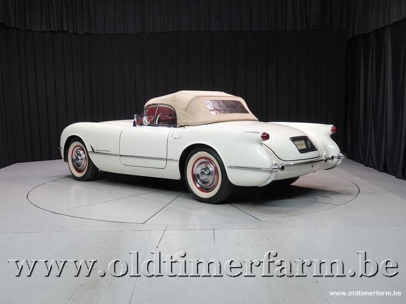 1954 Corvette C1 White '54 For Sale (picture 6 of 6)