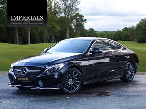 2017 Mercedes-Benz  C-CLASS  C 200 AMG LINE PREMIUM COUPE VAT Q 9