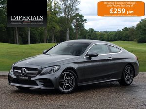2018 Mercedes-Benz  C-CLASS  C200 AMG LINE PREMIUM PLUS COUPE VAT For Sale