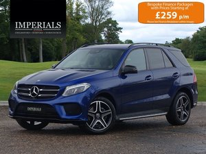 2018 Mercedes-Benz  GLE-CLASS  GLE 250 D 4MATIC AMG NIGHT EDITION