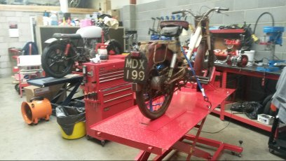 1920 Classic Motorcycle Restoration and Maintenance
