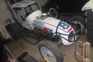 1962 Chevy V8 Wally Peat Built Modified / Sprint Car
