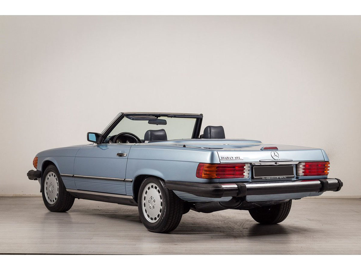 1989 Mercedes-Benz 560SL 17 Jan 2020 For Sale by Auction (picture 3 of 6)