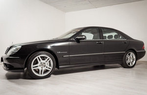 2004 Mercedes S55 AMG 17 Jan 2020 For Sale by Auction