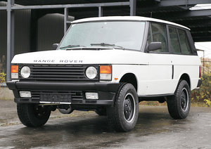 Range Rover 3 Door Classic 17 Jan 2020