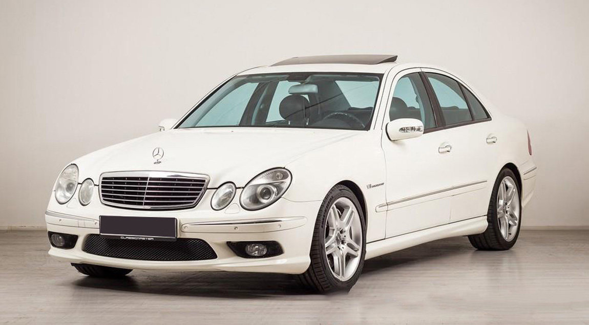 2003 Mercedes-Benz E55 AMG Saloon 17 Jan 2020 For Sale by Auction (picture 1 of 5)