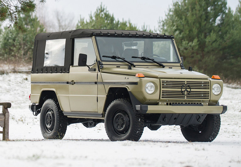 1990 Mercedes-Benz G-Wagen 250 GD Wolf 17 Jan 2020 For Sale by Auction (picture 1 of 6)