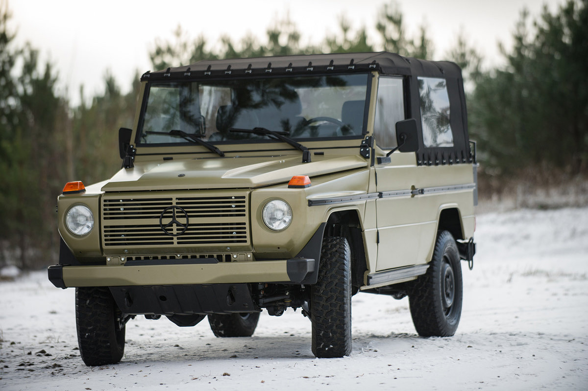 1990 Mercedes-Benz G-Wagen 250 GD Wolf 17 Jan 2020 For Sale by Auction (picture 2 of 6)