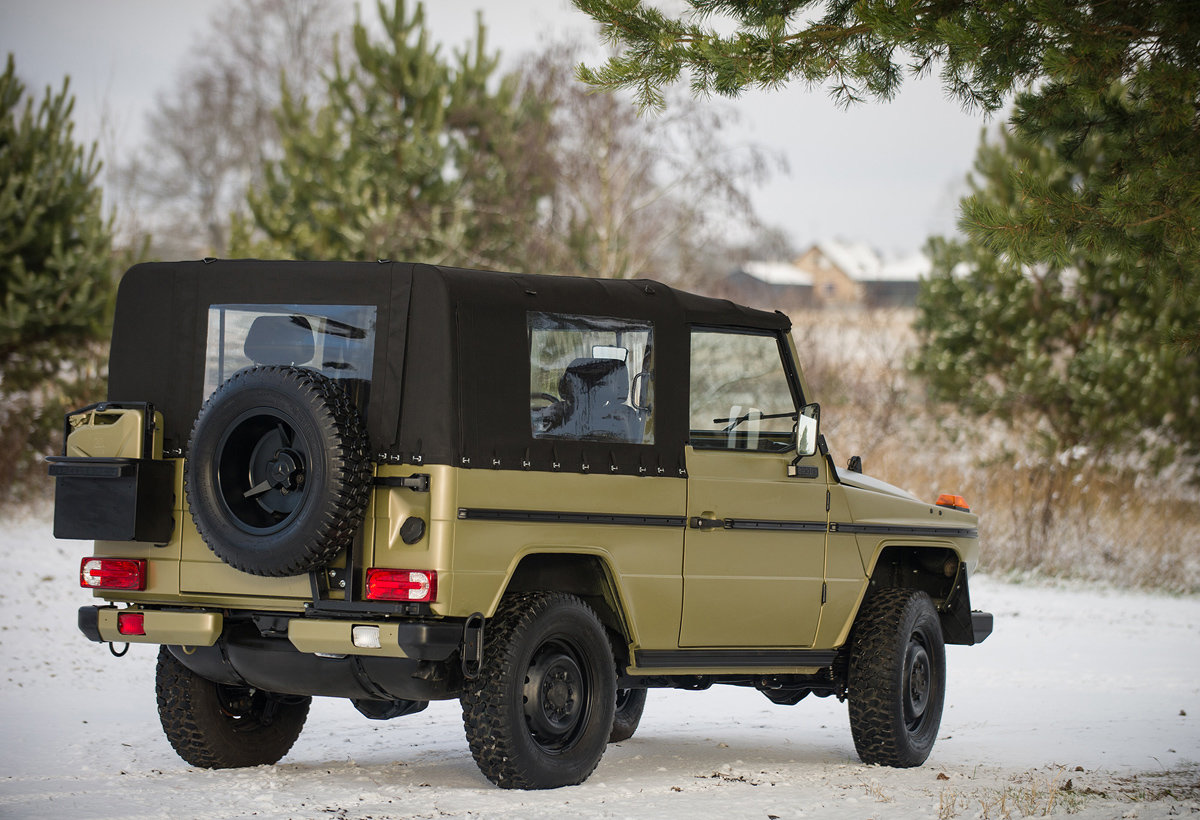 1990 Mercedes-Benz G-Wagen 250 GD Wolf 17 Jan 2020 For Sale by Auction (picture 3 of 6)
