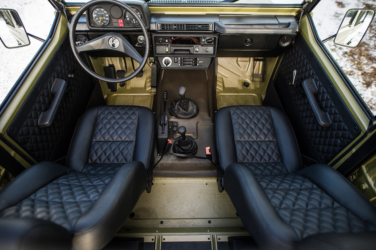 1990 Mercedes-Benz G-Wagen 250 GD Wolf 17 Jan 2020 For Sale by Auction (picture 5 of 6)