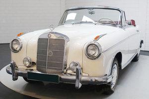 1960 Mercedes- Benz 220 SE Cabriolet 17 Jan 2020 For Sale by Auction
