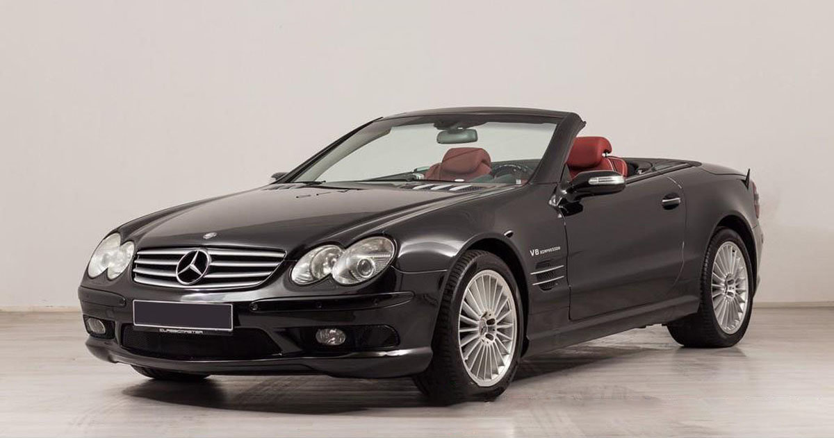 2004 Mercedes-Benz SL55 AMG 17 Jan 2020 For Sale by Auction (picture 1 of 6)