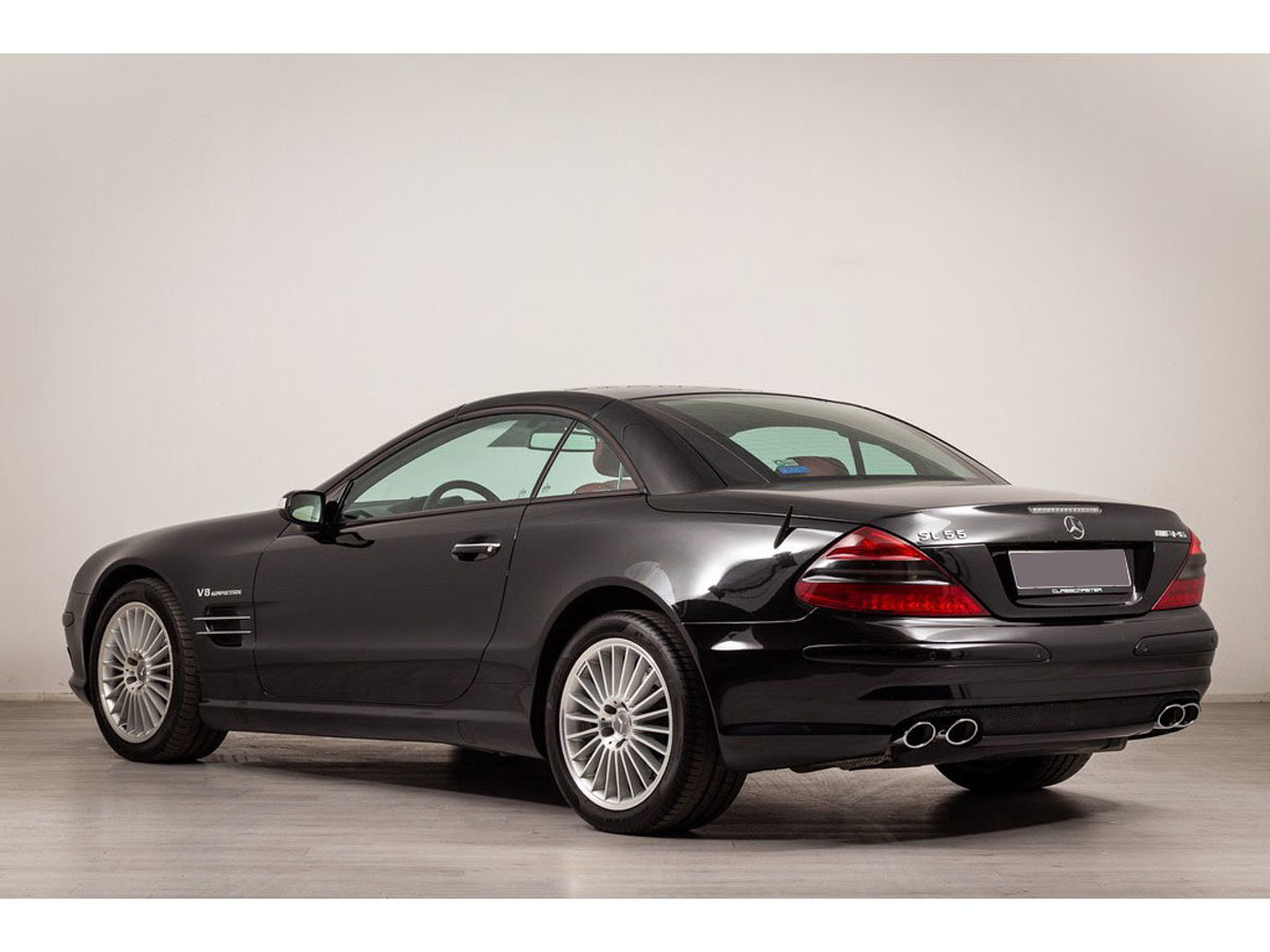 2004 Mercedes-Benz SL55 AMG 17 Jan 2020 For Sale by Auction (picture 3 of 6)