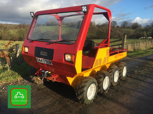 1990 SCOTTRACK 8X8 EXTREME TERRAIN LOAD LUGGER ROAD REG NO VAT SOLD