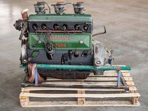 1948 Delahaye Type 103 Engine and Three Solex Carburettors