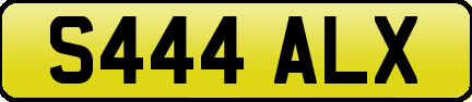 1999 PRIVATE REG CHERISHED REG S444 ALX IDEAL FOR ALEX SAL AL For Sale