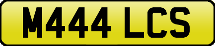 1995 Private reg Cherished number plate for MAL MALC MALCOLM MALC For Sale