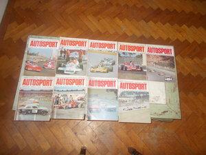 1971 9 x AUTOSPORT MAGAZINES  For Sale