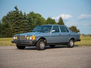 1984 Mercedes-Benz 300 D Turbo Diesel