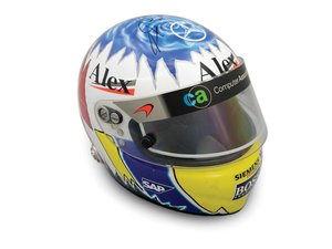 Alex Wurz McLaren Signed Helmet For Sale by Auction