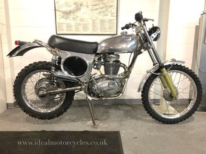 1971 Cheney BSA B50 ISDT Replica SOLD