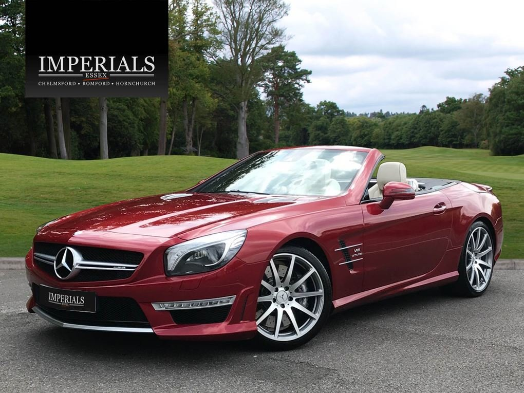 2014 Mercedes-Benz  SL 63 AMG  5.5 V8 CABRIOLET 7 SPEED AUTO  43, For Sale (picture 1 of 24)