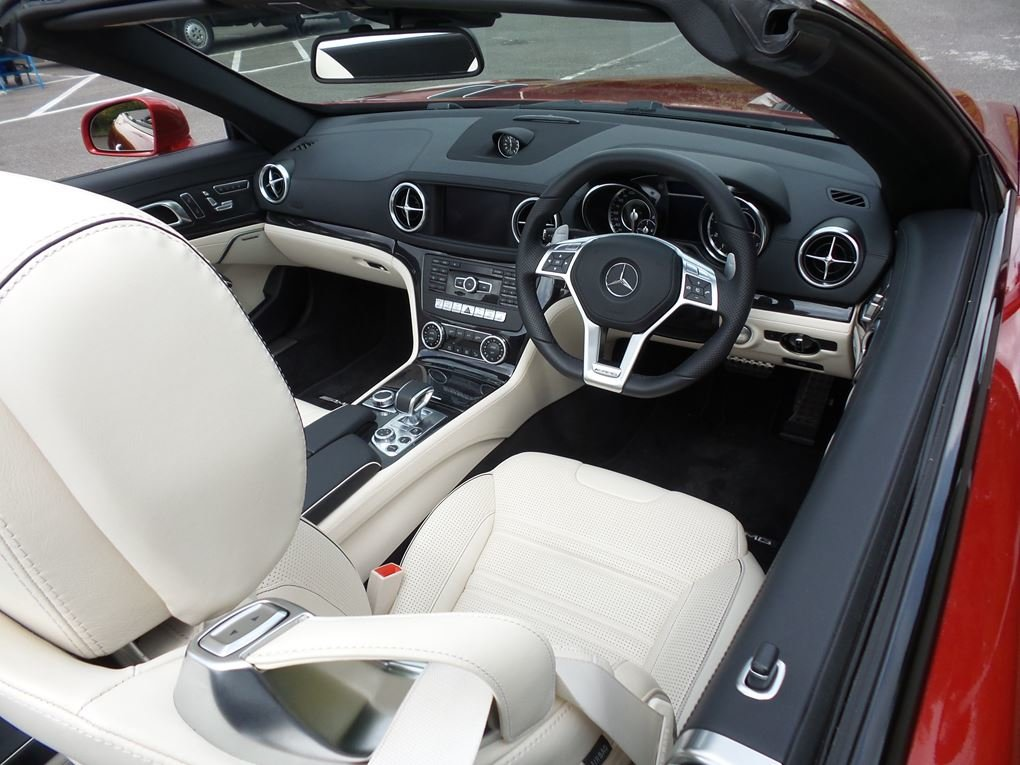 2014 Mercedes-Benz  SL 63 AMG  5.5 V8 CABRIOLET 7 SPEED AUTO  43, For Sale (picture 14 of 24)