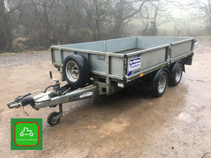 2014 IFOR WILLIAMS LM105 MAIN DEALER PX 10X5 TIDY TRAILER SOLD