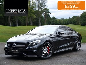 2017 Mercedes-Benz  S63 AMG  5.5 V8 COUPE 7 SPEED AUTO  55,948