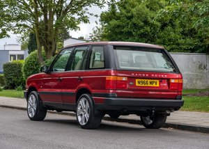 1996 Range Rover DSE For Sale by Auction