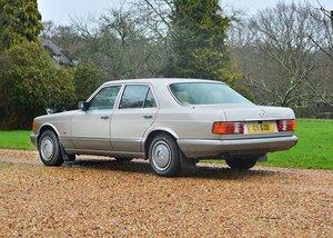 1990 Mercedes-Benz 300SE Saloon For Sale by Auction