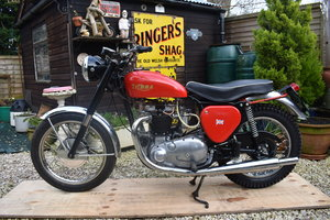 Lot 41 - A circa 1961 TriBSA - 09/2/2020 For Sale by Auction