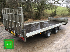 IFOR WILLIAMS TILTBED 2018 TRAILER 1 OWNER LATEST MODEL For Sale