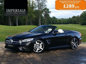2018 Mercedes-Benz  SL  SL 400 AMG LINE CABRIOLET AUTO  41,948 For Sale