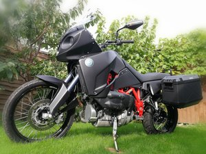 2010 Track T800 CDI Turbo Diesel motorcycle For Sale